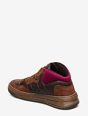 Ganni - Retro Basket - sneakersy niskie - chicory coffee - 2