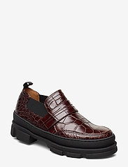 Ganni - LOAFER - loafers - chicory coffee - 0