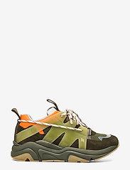 Ganni - Tech Sneakers - chunky sneakers - kalamata - 1
