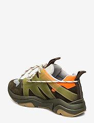 Ganni - Tech Sneakers - chunky sneakers - kalamata - 2
