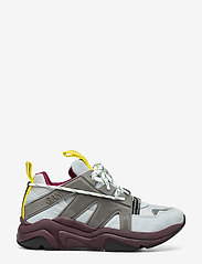 Ganni - Tech Sneakers - chunky sneakers - gray dawn - 1