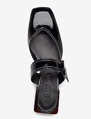 Ganni - Strappy Flats - mules & slipins - black - 3