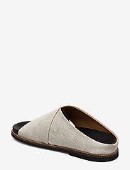 Ganni - Flat Sandals - płaskie sandały - nature - 2