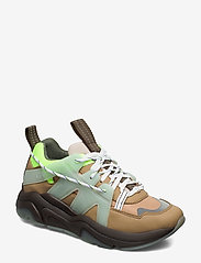 Ganni - Tech - chunky sneakers - ermine - 0