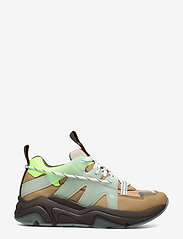 Ganni - Tech - chunky sneakers - ermine - 1