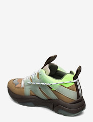 Ganni - Tech - chunky sneakers - ermine - 2