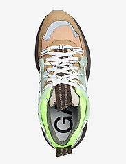 Ganni - Tech - chunky sneakers - ermine - 3