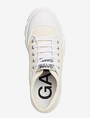 Ganni - Hybrid Sneakers - sneakersy niskie - egret - 3