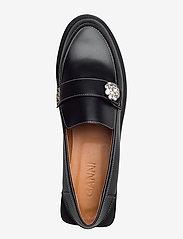 Ganni - Jewel - loafers - black - 3