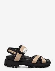 Ganni - Hiking Sandals - płaskie sandały - ermine - 1