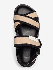 Ganni - Hiking Sandals - płaskie sandały - ermine - 3