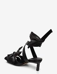 Ganni - Sandal Napa - højhælede sandaler - black - 2