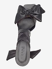 Ganni - Sandal Napa - højhælede sandaler - black - 3