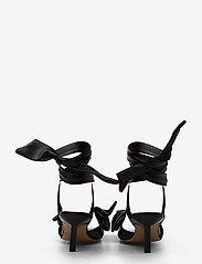 Ganni - Sandal Napa - højhælede sandaler - black - 4