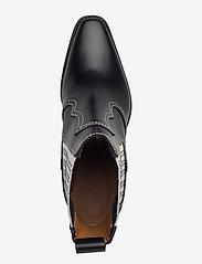 Ganni - Western Boot Polido - wysoki obcas - black - 3