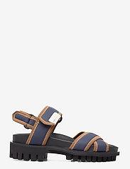 Ganni - Hiking Sandal Scuba - płaskie sandały - sky captain - 1