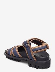 Ganni - Hiking Sandal Scuba - płaskie sandały - sky captain - 2