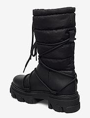 Ganni - Working Boot - flade ankelstøvler - black - 2