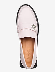 Ganni - Calf Leather - loafers - pale lilac - 3