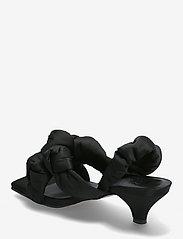 Ganni - Recycled Satin - højhælede sandaler - black - 2