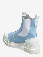 Ganni - Recycled Rubber - sko - corydalis blue - 2