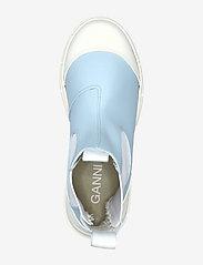 Ganni - Recycled Rubber - sko - corydalis blue - 3