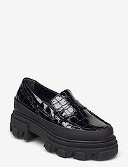 Ganni - Belly Croc - loafers - black - 0