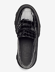 Ganni - Belly Croc - loafers - black - 3