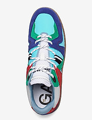 Ganni - Sporty Mix - low top sneakers - sky captain - 3