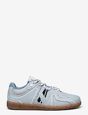 Ganni - Sporty Mix - sneakersy niskie - denim - 1