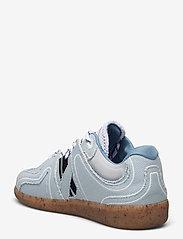 Ganni - Sporty Mix - sneakersy niskie - denim - 2