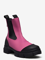 Ganni - Recycled Rubber - buty - shocking pink - 1