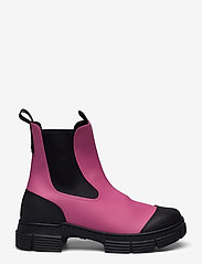 Ganni - Recycled Rubber - buty - shocking pink - 0