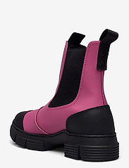 Ganni - Recycled Rubber - buty - shocking pink - 2