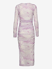 Ganni - Dress - stramme kjoler - orchid bloom - 1
