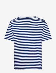Ganni - Stripe Thin Software Jersey - t-shirts - daphne - 1