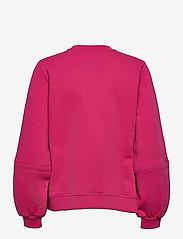 Ganni - Software Isoli - sweatshirts & hættetrøjer - shocking pink - 1