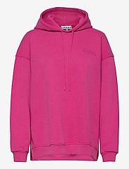 Ganni - Software Isoli - sweatshirts & hoodies - shocking pink - 0