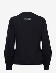 Ganni - Software Isoli - sweatshirts & hættetrøjer - sky captain - 1