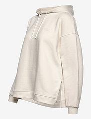 Ganni - Software Isoli - sweatshirts & hættetrøjer - egret - 2