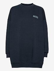 Ganni - Software Isoli - sweatshirts & hættetrøjer - sky captain - 0