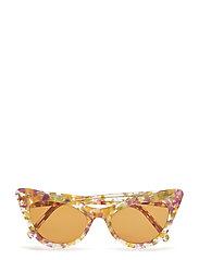 Cat-Eye Sunglasses Solglasögon Multi/mönstrad GANNI