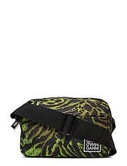 Tech Fabric Bags - LIME TIGER