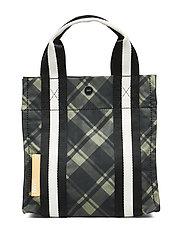 Check Print Bags Mini Tote - KALAMATA