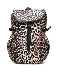 Tech Fabric Backpack - LEOPARD