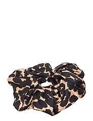 Silk Stretch Satin - LEOPARD