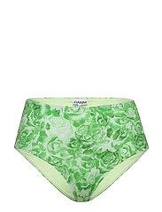 Recycled Fabric Swimwear - PATINA GREEN