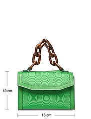 Ganni - Leather - top handle tasker - island green - 5