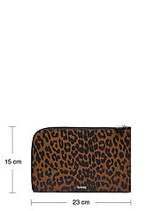 Ganni - Pouch Leather - clutches - toffee - 4