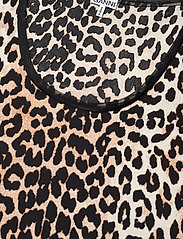 Ganni - Sleeveless Body - body - leopard - 2